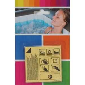 bestway kit r paration gonflable piscine patchs de r paration aqua blanc 82516 pas cher. Black Bedroom Furniture Sets. Home Design Ideas