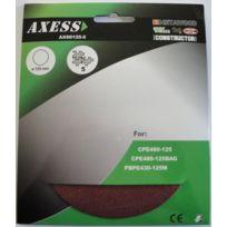 Axess - Abrasifs - Lot de disques abrasifs - 125 mm