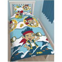 Jake Et Les Pirates - Parure de lit Requins Disney
