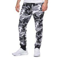 Violento - Jogging Homme Camouflage Gris