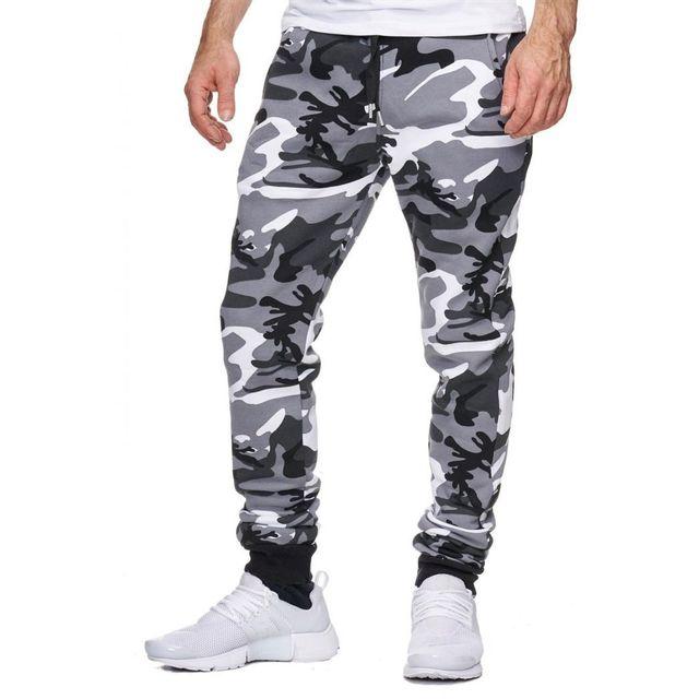 2aeac49c61f3e Violento - Jogging Homme Camouflage Gris XXL - pas cher Achat / Vente  Survêtement homme - RueDuCommerce