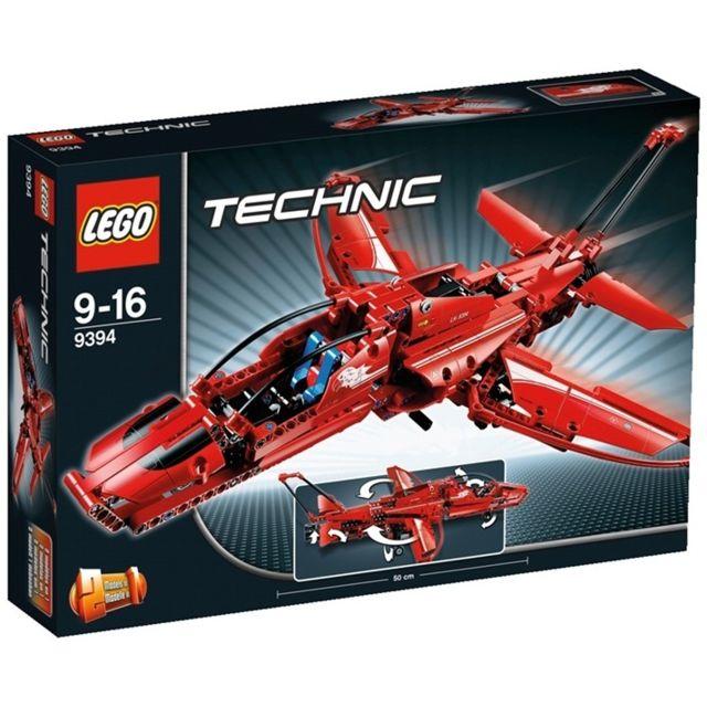 lego technic 9394 jeu de construction l 39 avion supersonique pas cher achat vente lego. Black Bedroom Furniture Sets. Home Design Ideas