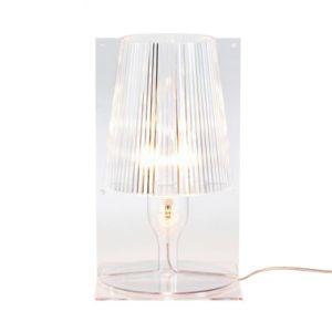 kartell take lampe poser transparent h30cm pas cher achat vente lampes poser. Black Bedroom Furniture Sets. Home Design Ideas