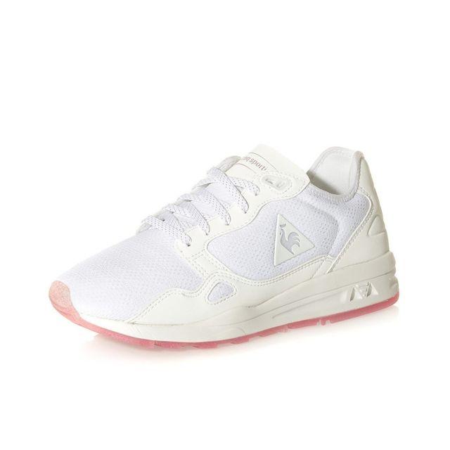 4be26080f48 Le Coq Sportif - Chaussures Lcs R9XT Diamond Mesh Blanc Femme - pas cher  Achat   Vente Baskets homme - RueDuCommerce