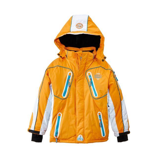 Web Garçon Geographical Ski Orange Cher Norway Blouson Pas De UUxHXz