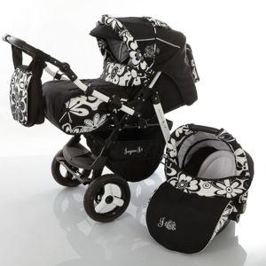 lux4kids j1 poussette combin e isofix set hiver si ge auto couffin poussette canne chanceli re. Black Bedroom Furniture Sets. Home Design Ideas