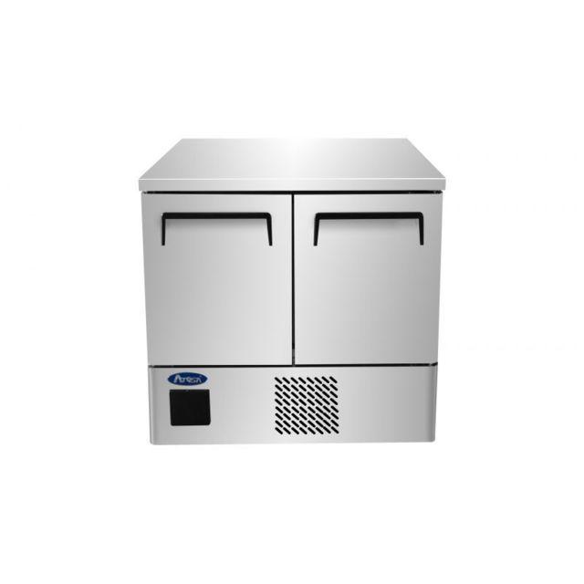 Atosa Table Réfrigérée Positive Gn 1/1 - 2 Portes 210 Litres R600A 2 Portes 759 Pleine