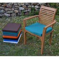 Teck'ATTITUDE - Coussin Vert pour fauteuil Samoa