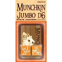 Munchkin - 332233 - Jeu De Cartes - Jumbo Dice - Orange - D6