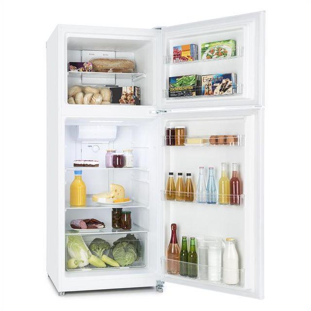KLARSTEIN Big Brother Combiné réfrigérateur congélateur 371L 281/90l classe A