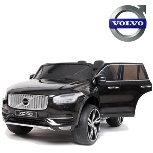 volvo grand 4x4 voiture lectrique enfant xc90 en 2 places 12v noir plastique pas cher achat. Black Bedroom Furniture Sets. Home Design Ideas