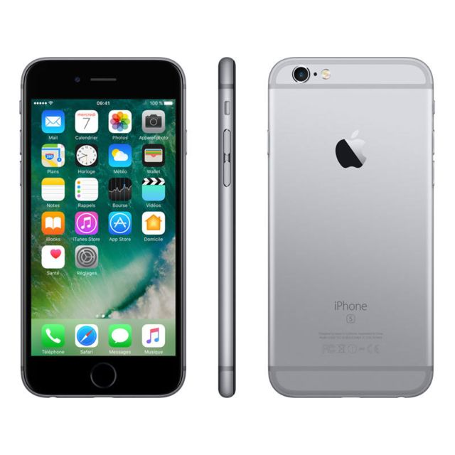 destockage apple iphone 6s 32 go gris sid ral pas cher achat vente smartphone rueducommerce. Black Bedroom Furniture Sets. Home Design Ideas