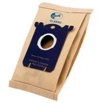 MENALUX - lots de 15 sacs 3x5, d'aspirateur s-bag classic papier - e200m