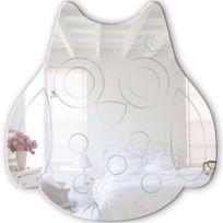Mungai Mirrors - Miroir Acrylique Hibou 30 Cm
