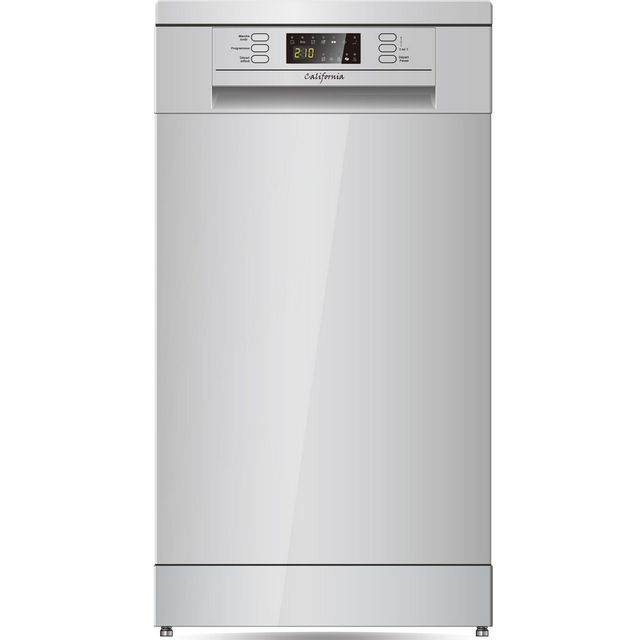 CALIFORNIA lave-vaisselle 45cm 9c 49db a+ silver - w45a1a401js1