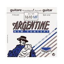 Savarez - Argentine 1610MF - Jeu de cordes à boule guitare Manouche - tirant 11-46