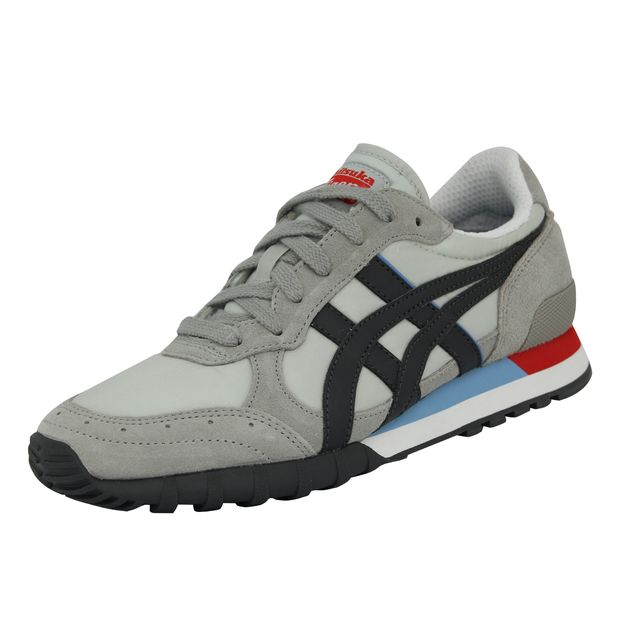 online store aaf68 2e1d7 Asics - Onitsuka Tiger Colorado Eighty-five Chaussures Mode Sneakers Homme  Cuir Suede Gris Blanc Noir - pas cher Achat   Vente Baskets homme -  RueDuCommerce