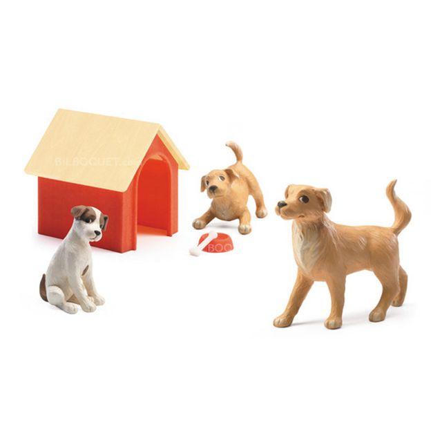 Djeco Maison de poupées : Les chiens