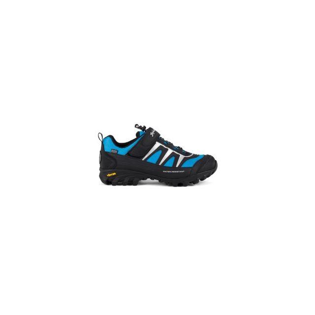 f5d7b14fb61 Spiuk - Chaussures Compass Vtt semelle Vibram noir bleu - pas cher Achat   Vente  Chaussures cyclisme - RueDuCommerce
