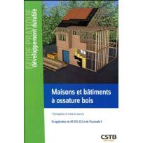 Cstb - Maisons et bâtiments à ossature bois