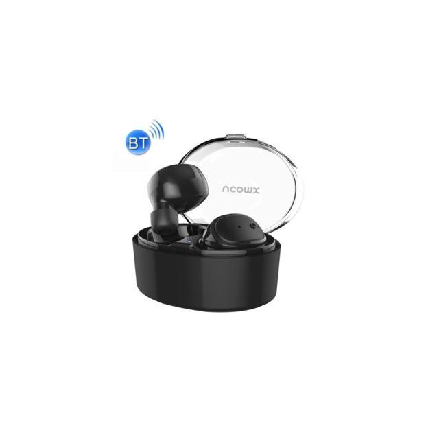 Auto-hightech Ultra Mini Casque stéréo Bluetooth V4.1, double écouteurs, pour iPhone, Samsung, Lg, Huawei, Htc, et autres Smartphones