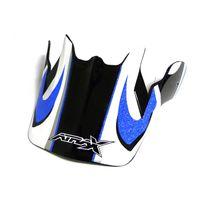 Atrax - Visière casque moto cross - Bleu