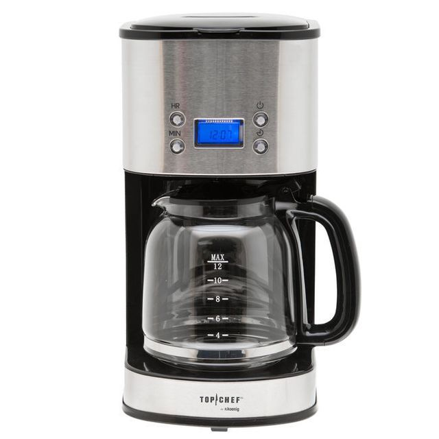TOP CHEF TOPC558 CAFETIERE PROGRAMMABLE 12-20 TASSES