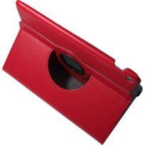 CLEVERLINE - Etui rotatif Rouge pour Asus ZenPad 10
