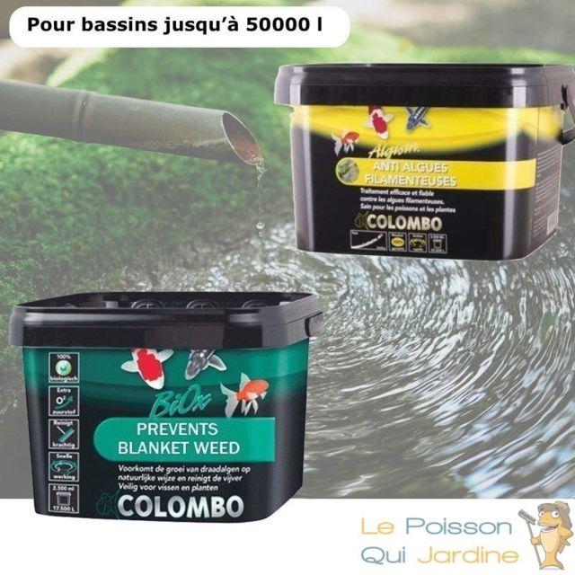 Le Poisson Qui Jardine Pack anti algues filamenteuses et oxygène pour bassins de max. 50000 litres