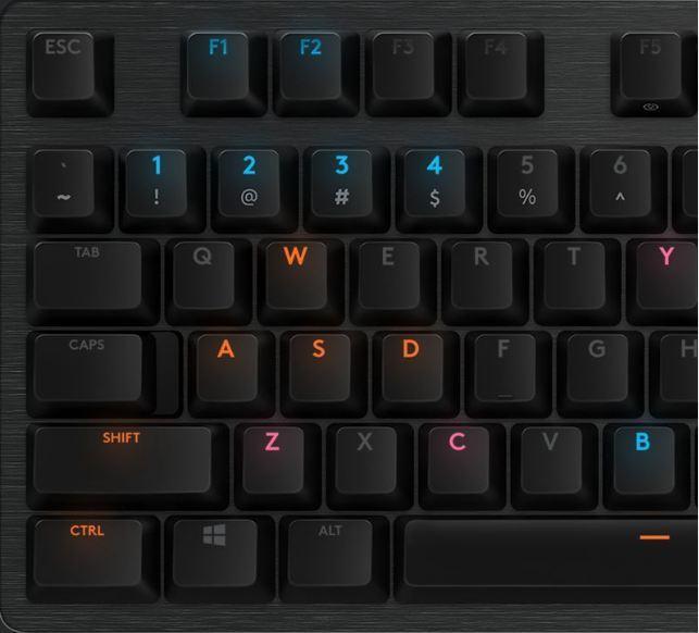 clavier gaming mécanique G512 Lightsync RVB