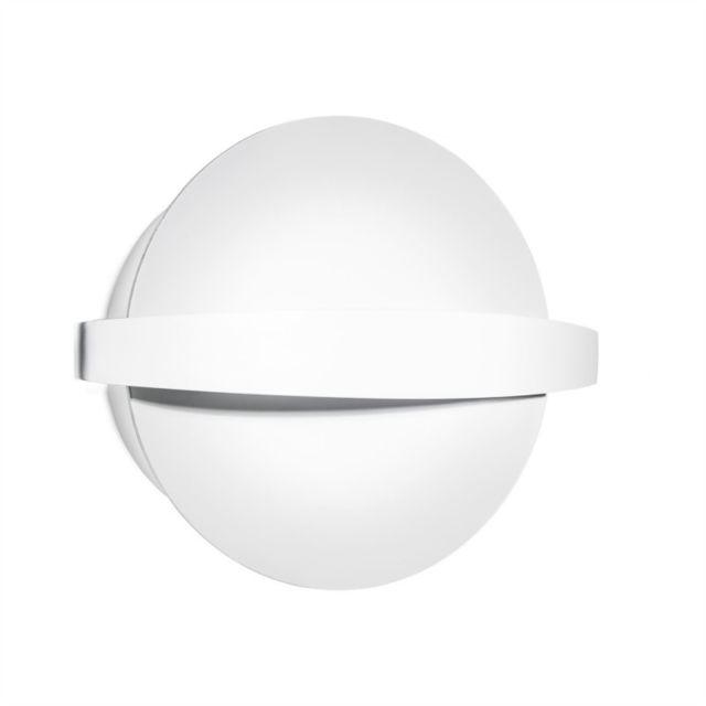Leds C4 Applique Saturn, blanc, 28 cm