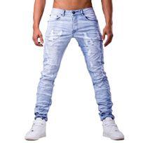 Jeansnet - Jeans fashion homme Jeans Jnst6100 bleu
