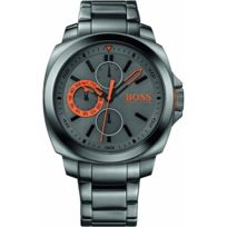 Hugo Boss Orange - Promo Montre Boss Orange Sao Polo 1513103 - Montre Grise Analogique Homme