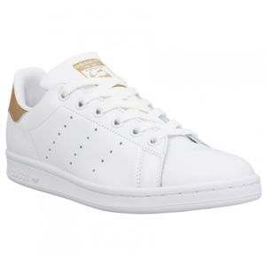adidas stan smith blanche doré