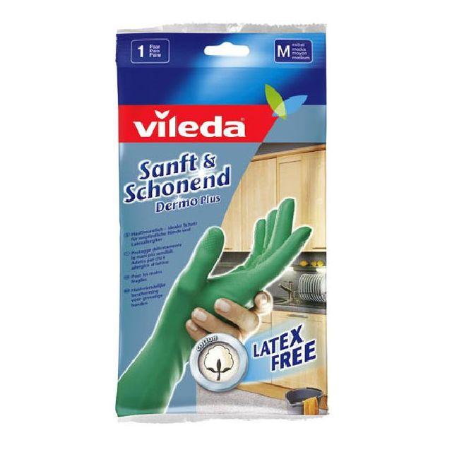 vileda gants dermo plus taille m pas cher achat vente s curit rueducommerce. Black Bedroom Furniture Sets. Home Design Ideas