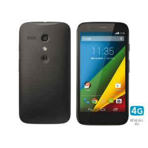 Motorola - Moto G 4G noir