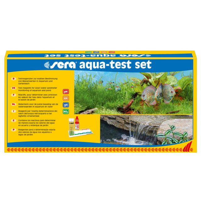 Aqua-Test Set pour Aquarium - Sera