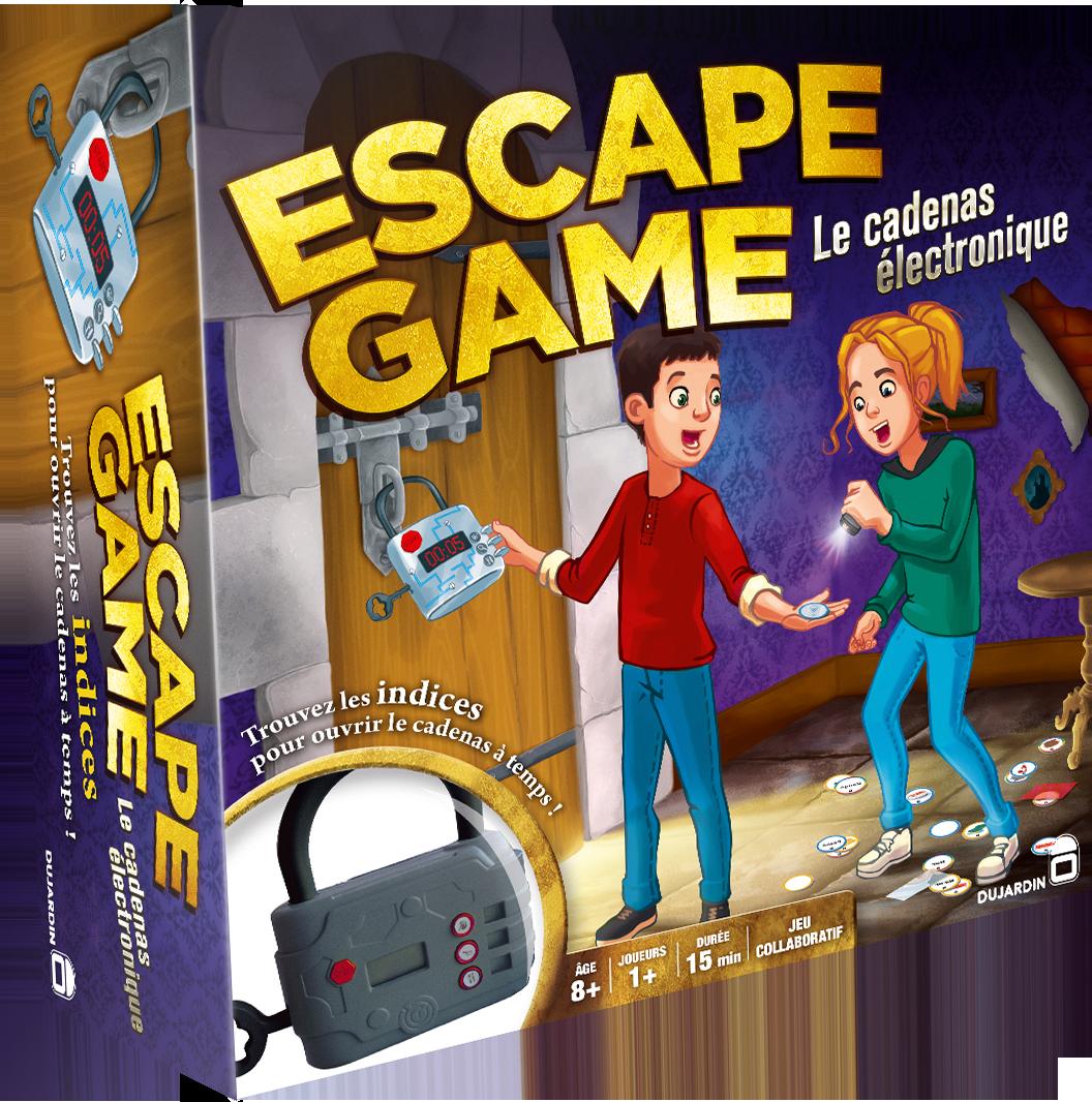 Dujardin jeux de soci t escape game pas cher achat for Dujardin 41278
