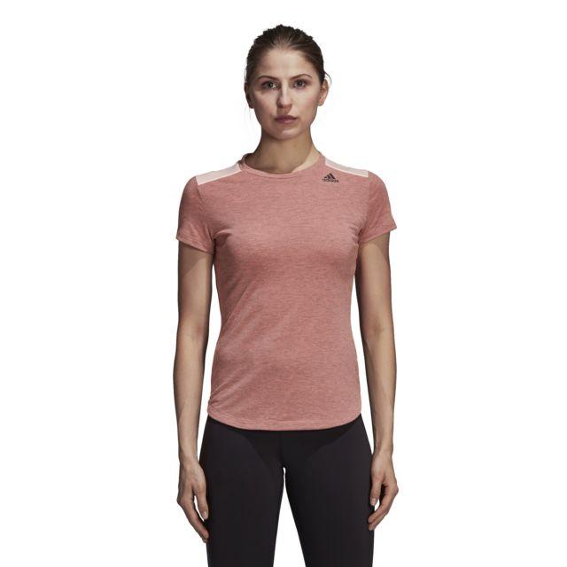 adidas t shirt femme