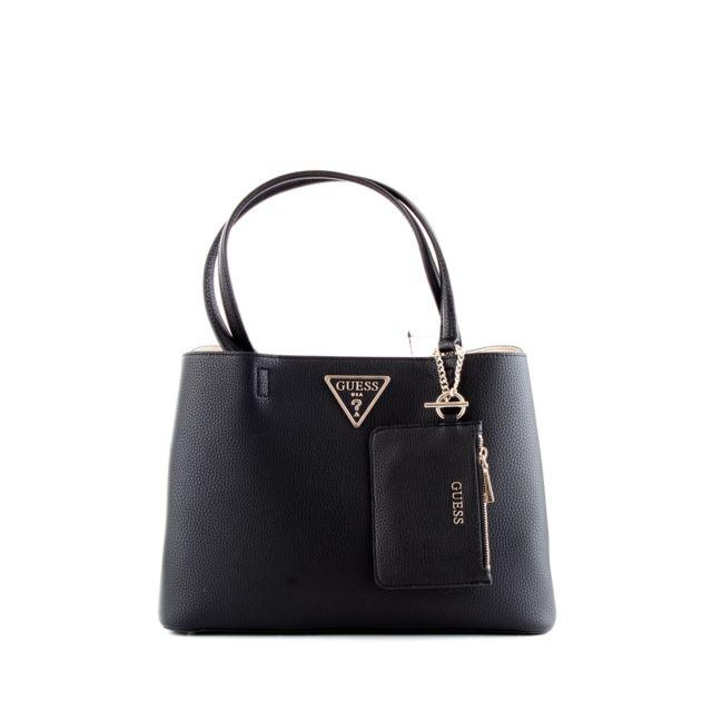 Guess Femme Hwvg7439100 Noir Polyester Sac À Main pas