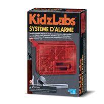 4M - Kidz Labs - Kit de fabrication : La science de l'espionnage scientifique : Système d'alarme