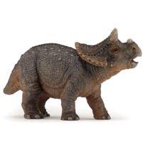 Papo - Figurine dinosaure : Jeune tricératops