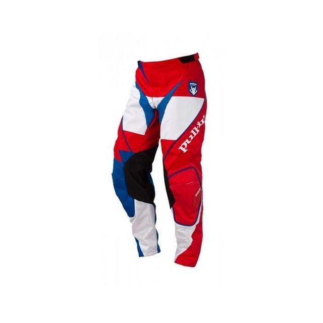 Achat Cross Pull Fighter Blanc Pantalon Rouge Pas Bleu Cher In qEawza6