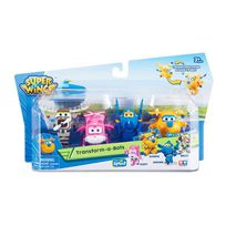 Auldey - Super Wings - 4 Figurines Super Wings 6 cm