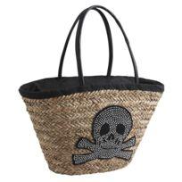 AUBRY GASPARD - Panier de plage Strass Skull