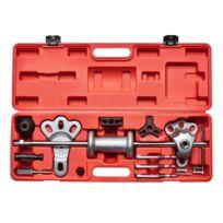 Kraftplus - K.277-4515 Kit d'extracteurs de moyeux avec masse à inertie - 12 pcs