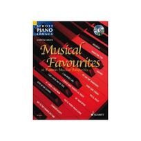 Schott Nyc - Musical favorites Cd 17 musiques de films - Piano