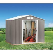 - Abri de jardin en métal 2,3m²