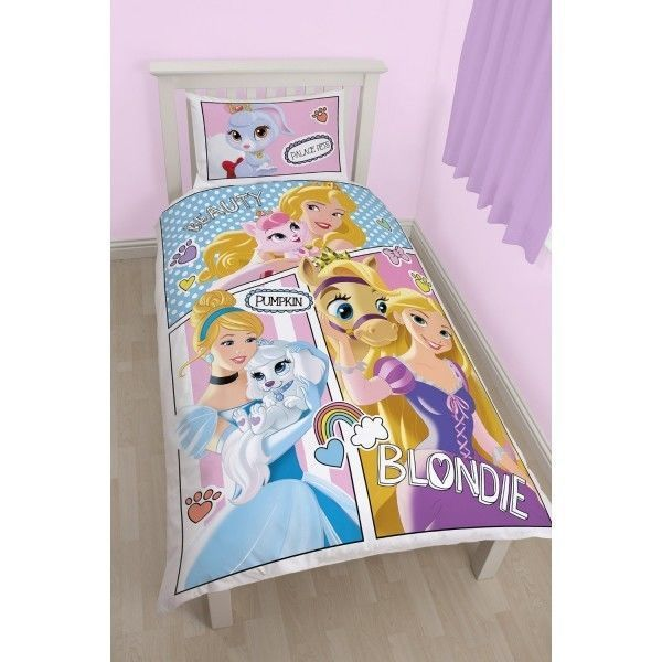 Disney Princesses Parure De Lit Princesses Palace Disney Pas