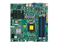 X9SCM-F - Motherboard - Mikro-ATX - Lga1155-Sockel - C204 - 2 x Gigabit Lan